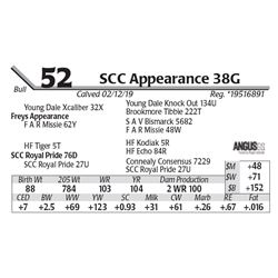 SCC Appearance 38G