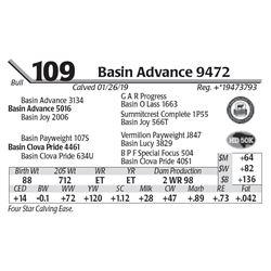 Basin Advance 9472