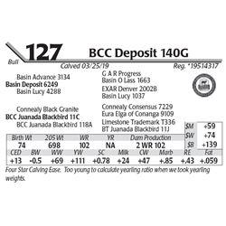 BCC Deposit 140G