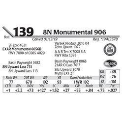 8N Monumental 906