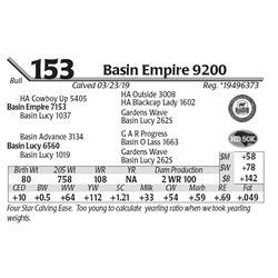 Basin Empire 9200
