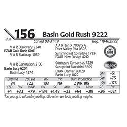 Basin Gold Rush 9222