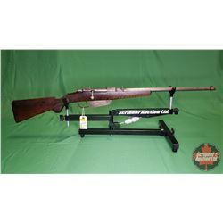 Rifle: Mannlicher 1891 Carcano 6.5 x 52 Italian Bolt