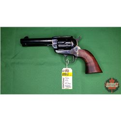 Handgun (Restricted): Pietta 1873 (Colt Army Reproduction) 357 Mag Single Action Revolver w/Original