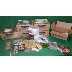 Case Lot : 24 Hour Ration Packs (6 Boxes) (Note: Any food or Beverage Products in this Auction will