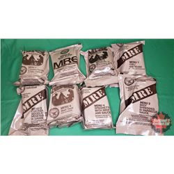 Case Lot : Read to Eat Individual Meals (8 Pkgs) (Note: Any food or Beverage Products in this Auctio