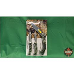 Olympia Hunting Knife Set - 3pc