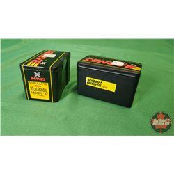 """Bullets: Barnes 30cal .308dia 180gr """"X"""" (2 Boxes / 50per Box)"""