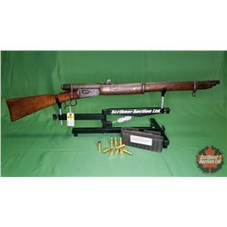 Rifle: Swedish Military 41 Swiss 10.4 x 38R Centre Fire ~ Bolt w/9 Rnds Ammo & 1 Brass S/N#62301