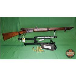 Rifle: Swedish Military 41 Swiss 10.4 x 38R Centre Fire ~ Bolt w/9 Rnds Ammo & 1 Brass S/N#62301