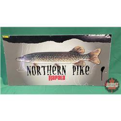 """Rapala Northern Pike Sign (18"""" x 36"""")"""