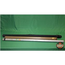 "Rod Holders (3): Black (58"") Silver (54"") Green (48"")"
