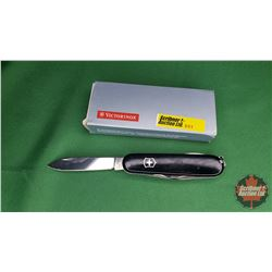 Knife: Victorinox Swiss Army Knife (Black)