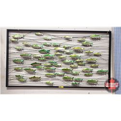 """Fish Décor Wall Hanging (22"""" x 40"""")"""