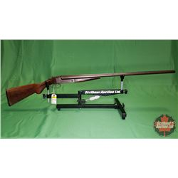 Shotgun: J. Stevens Arms & Tool Co. 335 Side x Side 16ga Double BBL Break S/N#51122