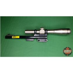 "Interchangeable BBL FOR Thompson Center Arms 22 Hornet (10""BBL) w/Redfield 4X Scope"