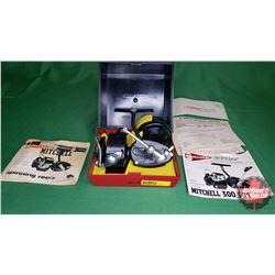REEL: Garcia Mitchell 300 w/Orig Box & Extra Reel (S/N#E153606)
