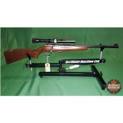Rifle: J.G. Anschutz West Germany 22LR Bolt w/Weaver Scope S/N#1287156
