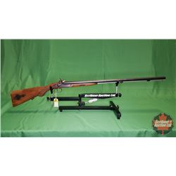 Shotgun: V.P. Sikligar Side x Side 12ga Muzzle Loading S/N#8103