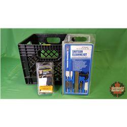 Shotgun Cleaning Kit w/Milk Crate