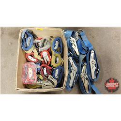 Box Lot: Ratchet Straps - Variety