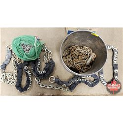 Pail Lot: Variety of Chain