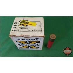 """AMMO: Winchester Super X 28ga 2-3/4"""" (1 Box / 25 per Box)"""