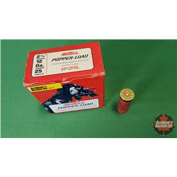 "AMMO: Western Popper Load 12ga 2-3/4"" (1 Box / 25 per Box)"