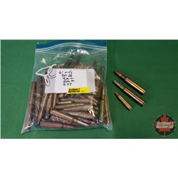 AMMO: 61Rnds Total Variety of 30-06; 7mm; 8mm; 223
