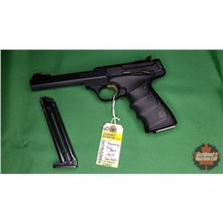 Handgun (Restricted): Browning Buck Mark 22LR Semi-Auto w/Case & 2 Magazines S/N#515ZX27991