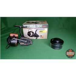 REEL: Mitchell 300 Pro w/Box & Reel Holder (S/N#Q.5,07)