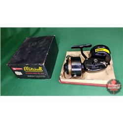 REEL: Garcia Mitchell 300 w/Box & Reel Holder & Extra Reel (S/N#2079908)
