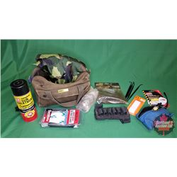 Military Pouch w/Gun Cleaning Items