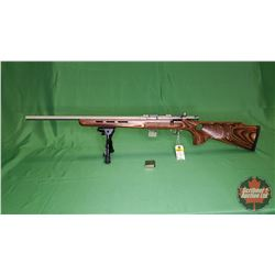 Rifle: Savage 93R17 BTVSS Lefthand 17HMR Bolt w/2 Mags & BiPod S/N#2479749