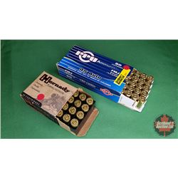 AMMO: Hornady & PPU 45Auto (2 Boxes 20+50 = 70 Rnds)