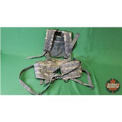 Tactical Vest - Grey Camo