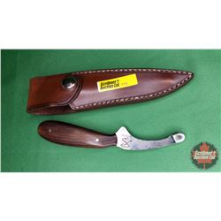 Schiller Skinning Knife in Sheath