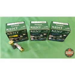 "AMMO: Kent Steel Waterfowl 12ga 3"" (3 Boxes / 25 per Box = 75)"