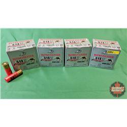 """AMMO: Winchester 12ga 3"""" (4 Boxes / 25 per Box = 100)"""
