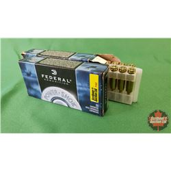 AMMO: Federal 22-250 Rem 55gr Soft Point (2 Boxes / 20 Per Box = 40Rnds)