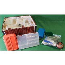 Box Lot: Variety of Plastic Organizers