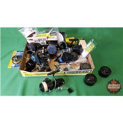 Tray Lot: Mitchell Reel Parts (Variety)