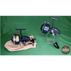 REELS: Garcia Mitchell (Blue) (2) : Both 406 w/1 Pouch & 1 Stand