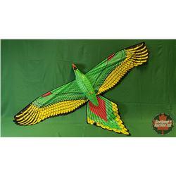 Kite : Green Parrot (7ft Wingspan)