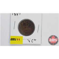 Canada Large Cent 1887