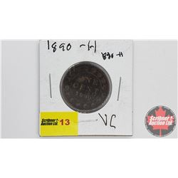 Canada Large Cent 1890H