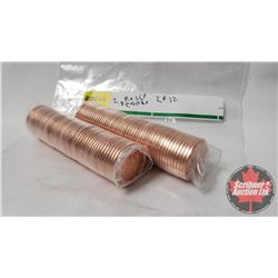 Canada One Cent - 2 Rolls : 2012