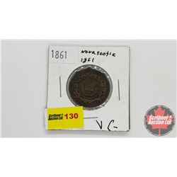 Nova Scotia One Cent 1861