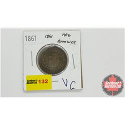 New Brunswick One Cent 1861