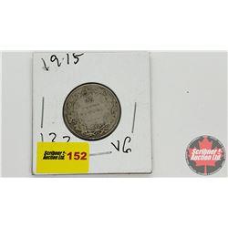 Canada Twenty Five Cent 1915
